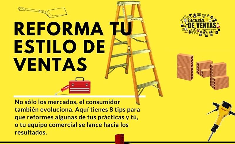 infografía sobre ventas Reforma tus ventas