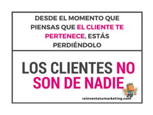 Los clientes no son de nadie