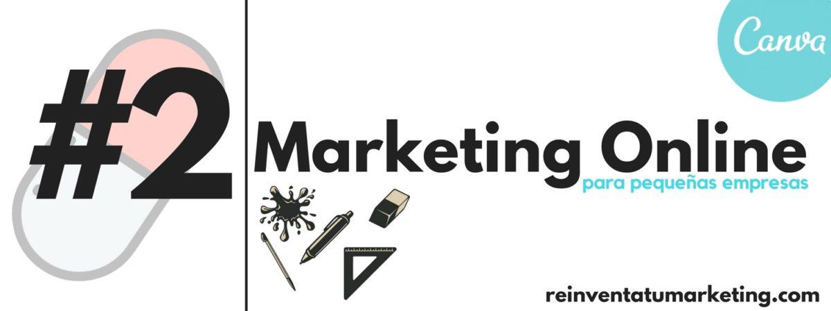 Tutorial de Canva.Marketing Online para pequeñas empresas. Herramientas